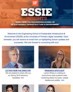 ESSIE Newsletter, Spring 2019