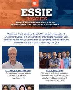 ESSIE Newsletter, Fall 2019