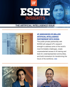 ESSIE Newsletter, Fall 2020 – AI Edition