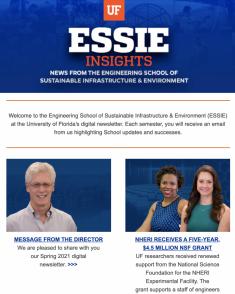 ESSIE Newsletter, Spring 2021