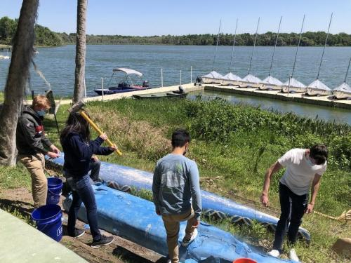 Concrete Canoe Testing